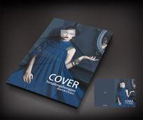 时尚女装杂志刊物封面