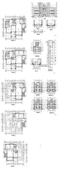 酒店建筑设计图 dwg