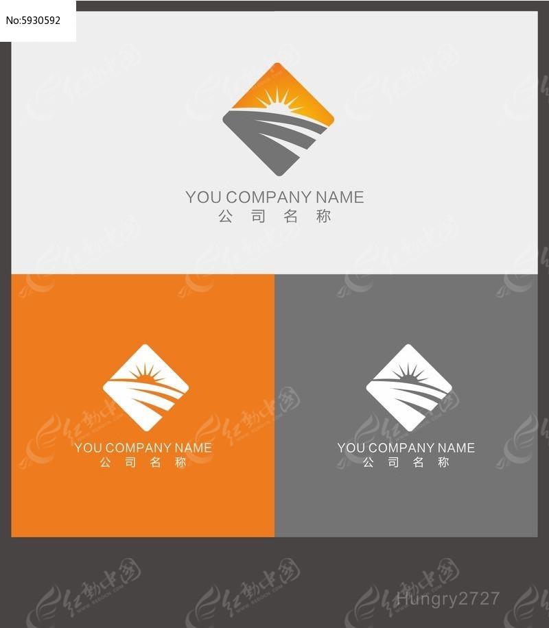 企业logm�'h�_菱形企业logo