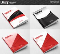 四款创意广告公司宣传画册封面设计