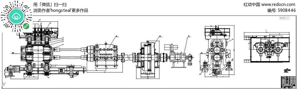 850水平轧机设计全套图纸及说明书