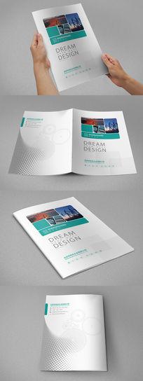 重工业机械画册封面设计