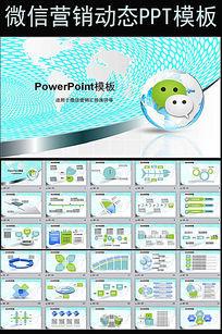 微信微营销行业解决方案互联网PPT模板