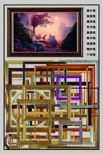 画框装饰艺术唯美图