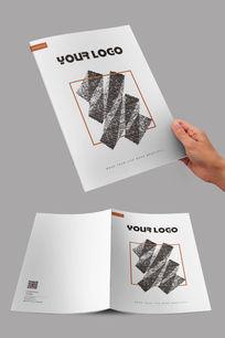 简约纹理设计封面 PSD