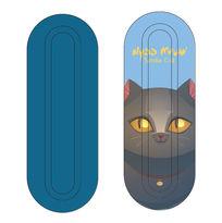 蓝色猫咪餐具铁盒设计