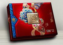 8福临门月饼包装设计 PSD