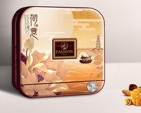 荷意月饼包装设计 PSD