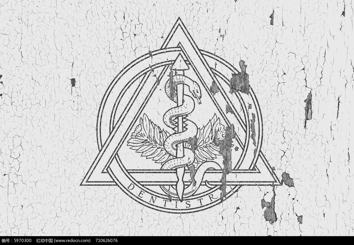 logo墙皮脱落效果图片