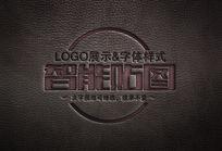 皮革LOGO效果品牌VI智能PSD模板下载