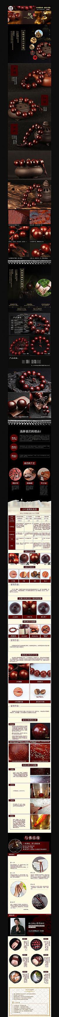 淘宝男士装饰品详情页