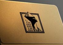 提案贴图标志展示logo效果图