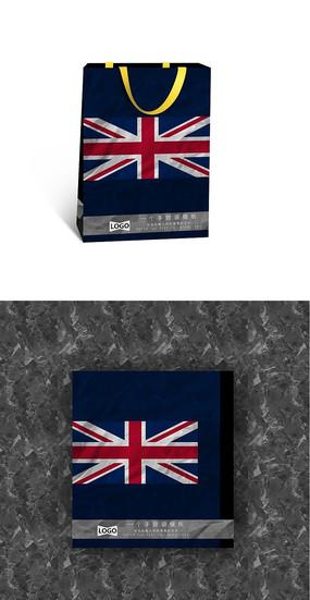 旗帜手提袋 PSD