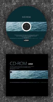 海波纹潮流演唱会CD光盘设计 PSD