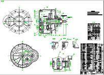 CDI型5吨电动葫芦减速器 dwg