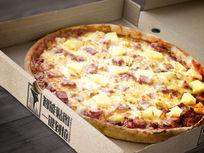 比萨盒子包装效果VI场景智能贴图模板