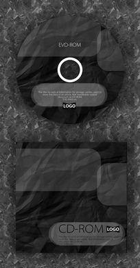 黑色质感演唱会CD设计