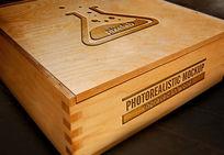 木盒logo雕刻模版 PSD