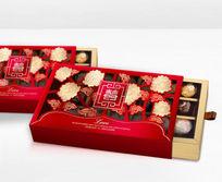 中国红婚庆包装