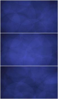 光圈缓慢扩散蓝色背景视频素材