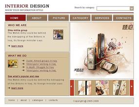 网页设计网页模板国外网站