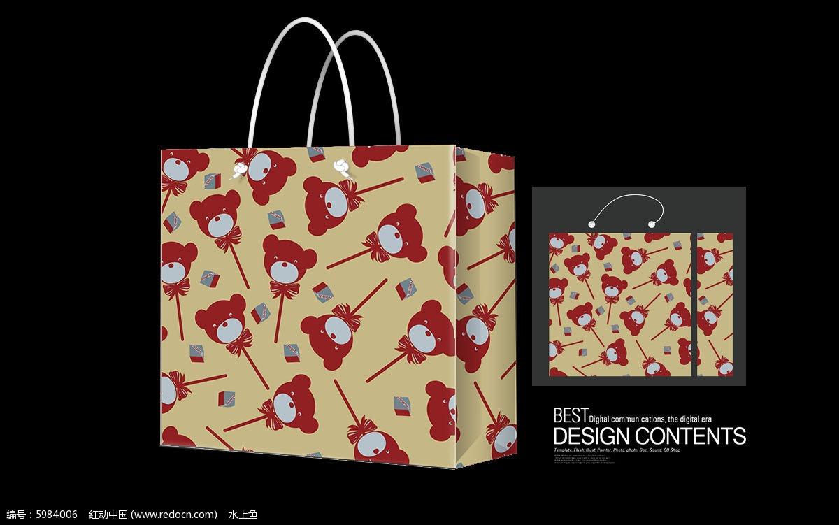 小熊猫礼物手提袋