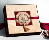 喜悦月饼盒设计 PSD