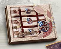 雅礼月饼盒 PSD