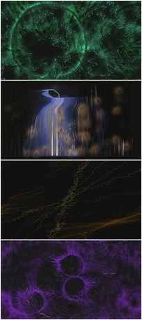 抽象vj音乐背景视频素材