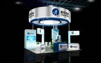 雷赛上海广印展台模型