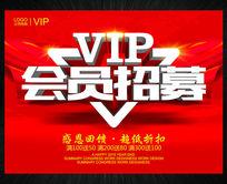 VIP会员招募精品促销宣传海报设计