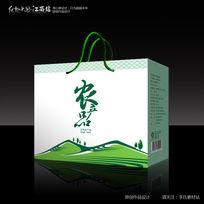 白色简约时尚农业产品包装设计