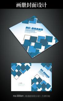 动感方块公司画册封面