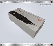 水墨风格木梳包装设计 CDR
