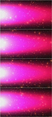 4k超清粉红色粒子飞舞背景视频素材