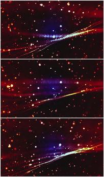 炫彩流光光影变化背景视频素材