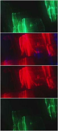 红绿蓝光变灯光视频背景