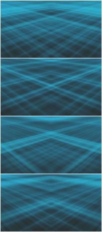 蓝色网格网线背景视频素材