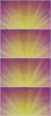 早晨太阳光特效背景视频素材