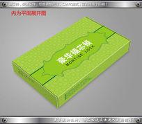 高档绿色纹理豪华门锁包装设计飞机盒