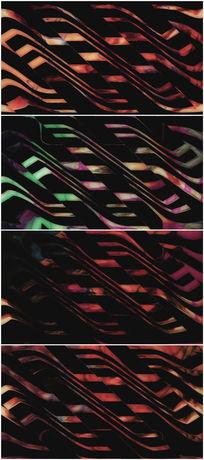 金属质感螺旋移动背景视频素材