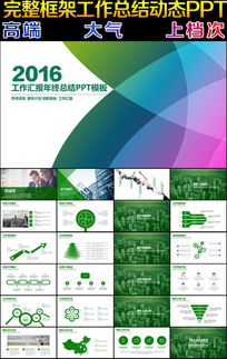 2016年终总结年中总结PPT