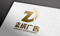 ZC广告标志