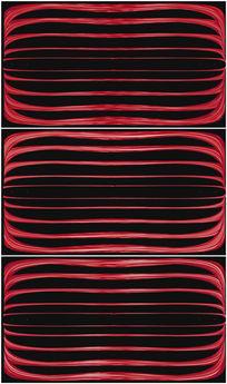 红色线条线框光效背景视频素材