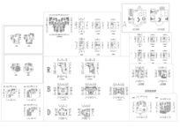 多种别墅户型平面图