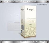 高档简约化妆品精油包装彩盒设计CDR