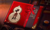 中国福月饼包装设计 PSD