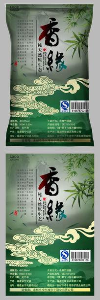 客家特产纯天然原生态酒包装