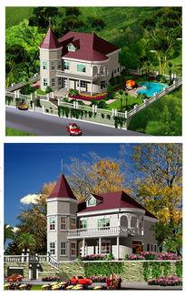 农村别墅外观建筑设计