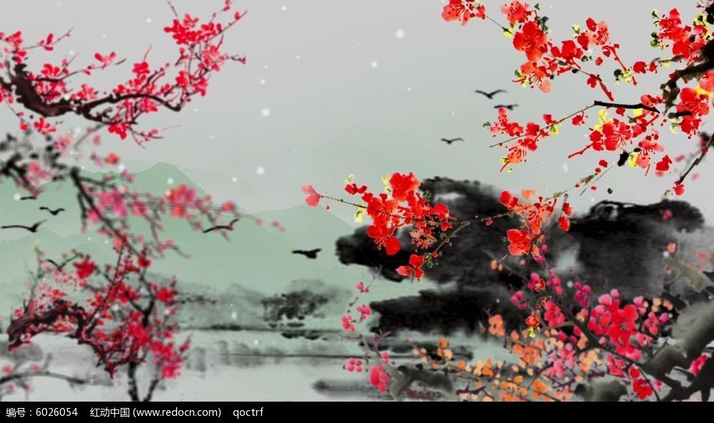 中国风人物色彩